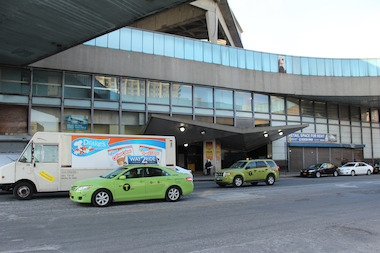 Several small business owners said the developers, George Washington Bridge Development Venture LLC, of the GWB Bus Terminal Renovation has been blocking them from building their shop.