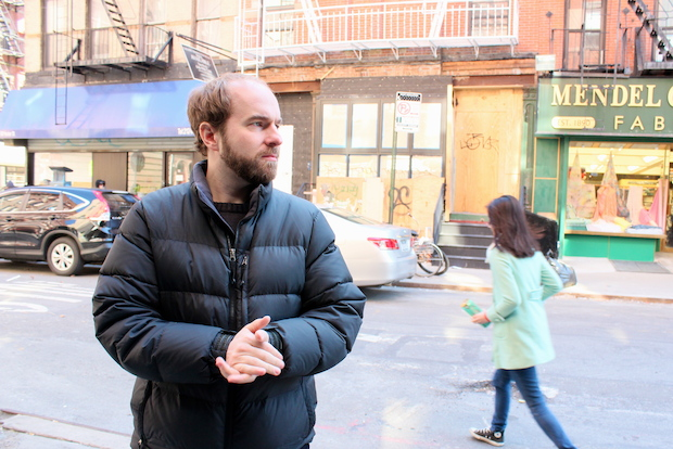 Filmmaker Casimir Nozkowski grew up at 70 Hester St., a former synagogue and raincoat factory.