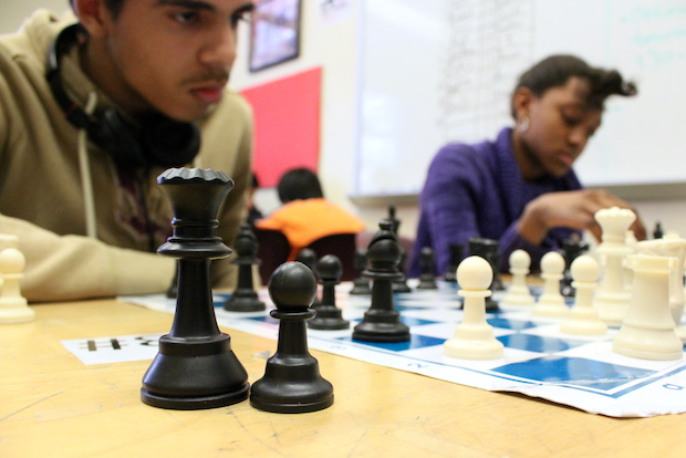 The chess team at East Side Community High School was recently crowned best in the city.