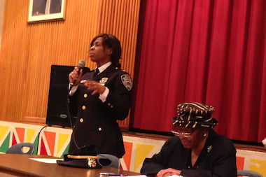 81st Precinct commanding officer, Inspector Juanita Holmes, will leave Bed-Stuy for 1 Police Plaza this month.