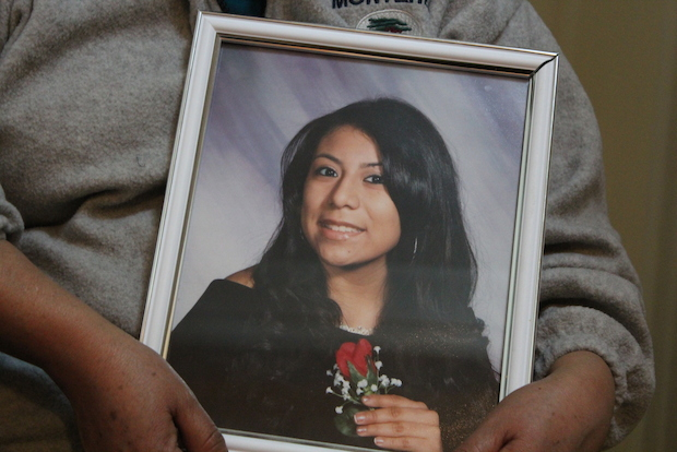 Marisol Martinez, 21, was struck and killed by an MTA bus on Saturday, police said.