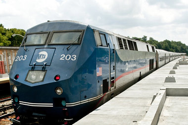 Riders can now buy tickets electronically on the the Metro-North Harlem Line.