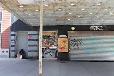 Mark Levine is trying to find a solution for the long vacant Metro Theater.