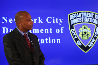 Philip Eure was appointed the city's first NYPD Inspector General Friday March 28, 2014.