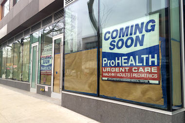 ProHEALTH will open an urgent care center at 330 Court St. in Carroll Gardens.