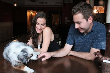 The owners of doggy day care Ruff Club, Danny Frost and Alexia Simon Frost, are members of the new East Village Independent Merchants Association.