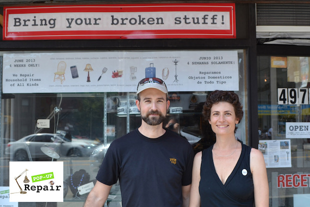 Pop Up Repair, a drop-off fix-it service, will set up temporarily in Gowanus at Film Biz Recycling.