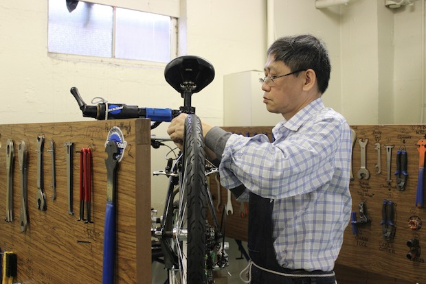 The Bicycle Mechanic Skills Academy has both instruction and an apprenticeship.