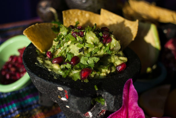 Mexican restaurant La Morada has a straightforward recipe for guacamole.