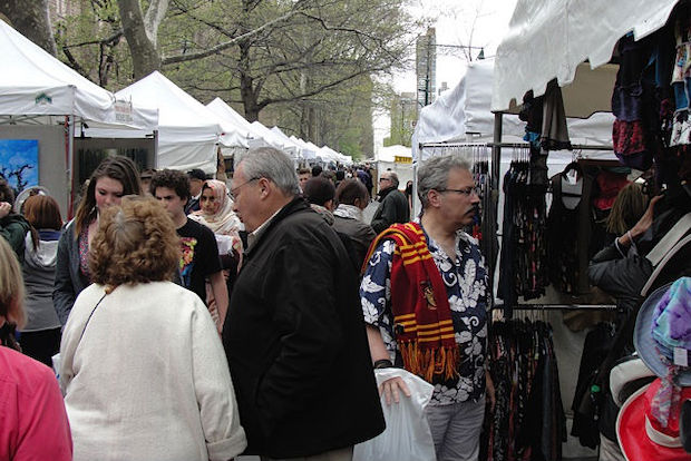 A Community Board 7 committee said the crafts fair could continue to operate in the neighborhood, but only for four weekends instead of six.