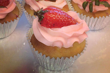 The bakery serves cupcakes and cookies as well as a range of custom cakes.