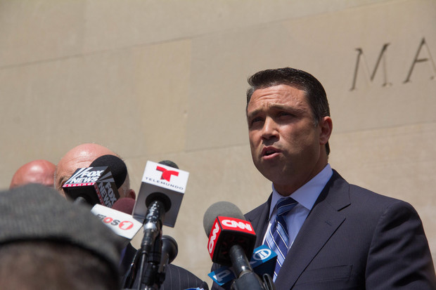 Former Rep. Michael Grimm will officially announce his campaign to get his old job back Oct. 1.