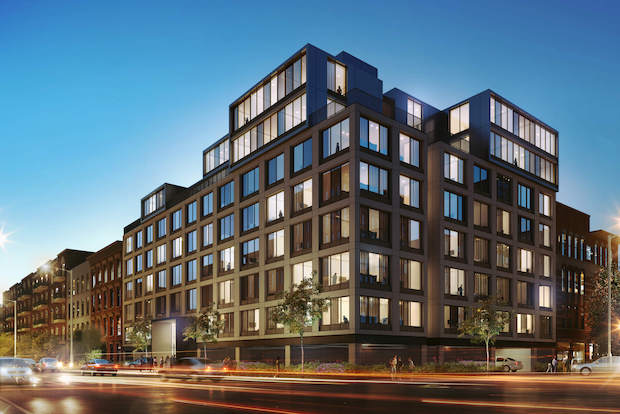 The Bergen is a new eight-story 84-unit residential building in Boerum Hill. Prices will begin at $2,123 for studios, $2,536 for one-bedrooms and $3,520 for two-bedrooms.