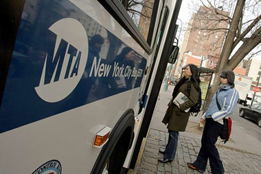 Weekend bus service is going to be restored on the M8 and Q31 lines starting April 6, 2014. The Q77 will have Sunday service added.