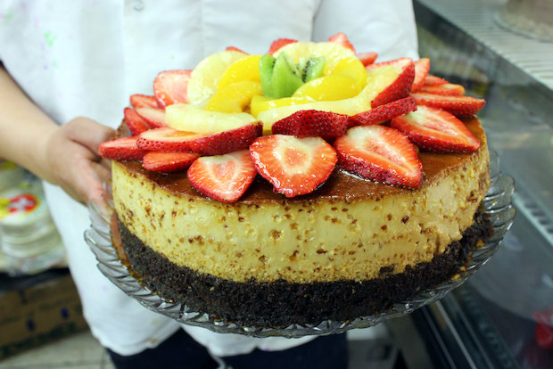 The Chocoflan blends a rich chocolate cake with the the smooth custard flan.