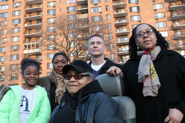 Residents of  Lenox Terrace , a six-building middle class rental enclave in Central Harlem, say they are overwhelmingly oppossed to a plan by the owners to bring commerical zoning to the complex along with six new taller residential towers. A survey taken by the Lenox Terrace Association of Concerned Tenants found that 78 percent of respondents were against the plan by owners The Olnick Organization.