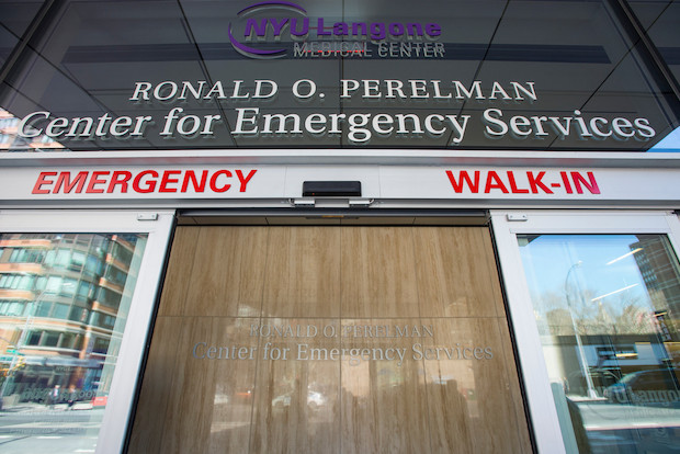 NYU Langone opened its brand new emergency department, featuring a new emergency pediatric center.