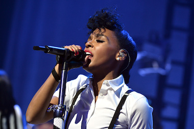 Janelle Monae, seen here at the iHeartRadio Live series at the iHeartRadio Theater on March 25, 2014 in Burbank, California, will be among the headliners at this year's Celebrate Brooklyn series at Prospect Park.