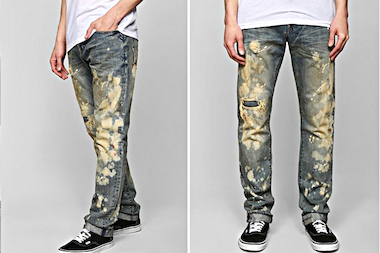 10 pairs of these PRPS jeans were among those stolen from Urban Outfitters, police said.