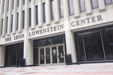 An alumnus was found dead in a bathroom on Monday April 7, 2014 in the Leon Lowenstein Center.
