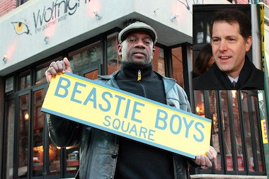 "Upper West Side Councilman Mark Levine is throwing his support behind an effort to rename a Lower East Side street corner ""Beastie Boys Square."""