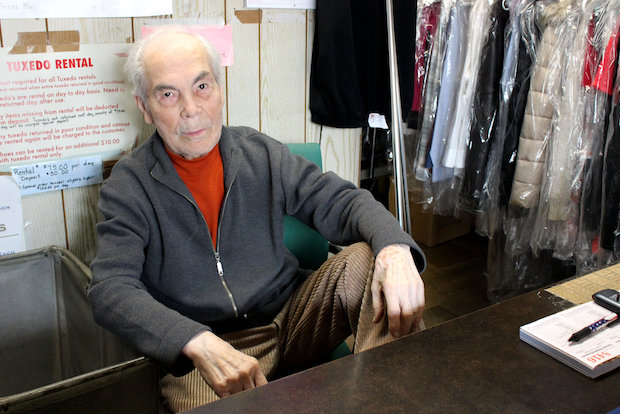 Mario Cutrone's been making clothes in Corona since the 1960s, and he's hanging up the sewing needles to retire.