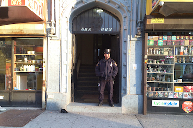 An 18-year-old father was stabbed inside this Prospect-Lefferts Gardens apartment building Tuesday, April 1, 2014 about 4:45 p.m.