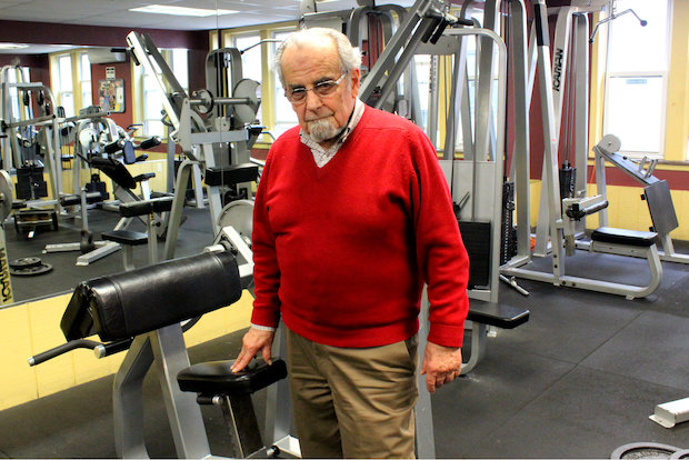 The New Olympia Gym is run by the United Presbyterian Church and is one of many services they provide.