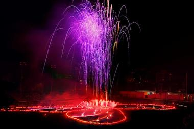A massive fireworks display by Judy Chicago in Prospect Park on April 26 is part of a retrospective of her artwork.