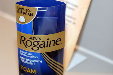 Thieves stole $600 worth of Rogaine from Duane Reade.