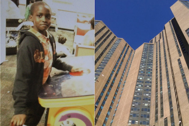 Investigators believe Sidy Fofana, 9, fell from the roof of the River Park Towers Complex.