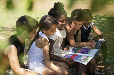 Summer camps help children to foster social relationships without the aid of a parent.