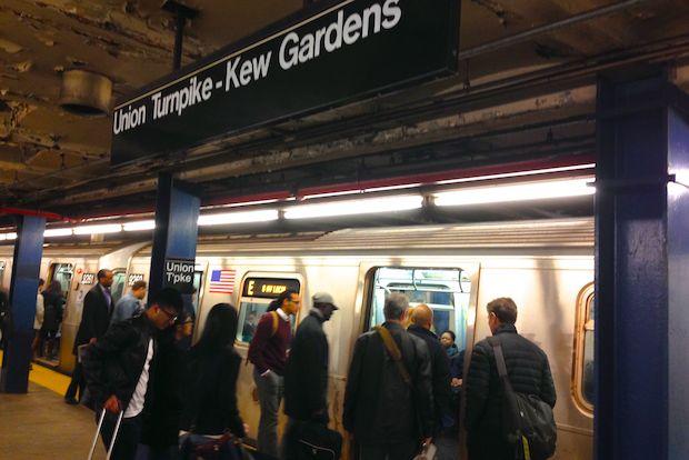 extralarge - Kew Gardens Union Turnpike Subway Stop