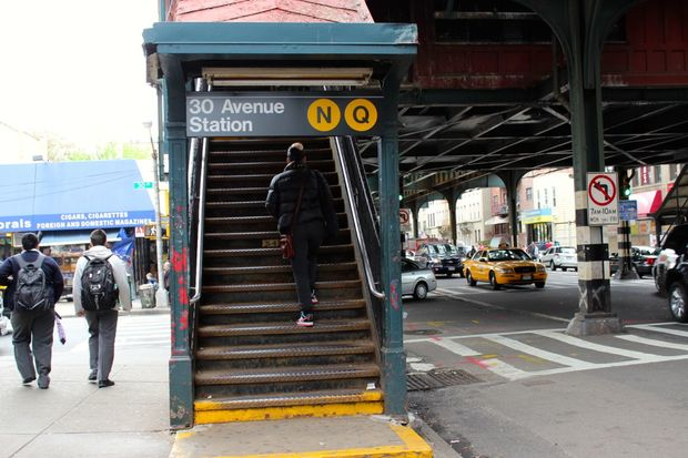 The 30th Avenue and 36th Avenue stations will be closed for up to eight months, according to the MTA.