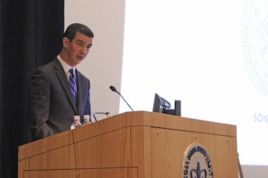 Ydanis Rodriguez pledged millions of dollars in renovations to Northern Manhattan facilities during his State of the District address Sunday.