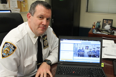 Capt. Thomas C. Harnisch, commanding officer of the 25th Precinct in East Harlem, is one of five commanders around the city who have been authorized to use Twitter. He uses the name @NYPD25Pct.