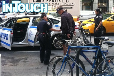 "A ""belligerent"" Alec Baldwin was arrested for riding his bike the wrong way on Fifth Avenue at 16th Street, police said."