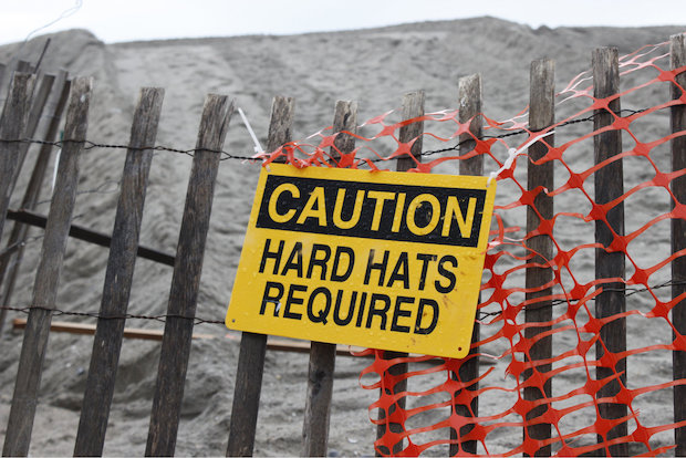 Expect massive sand dunes and beach closures at Rockaway Beach this weekend and summer.