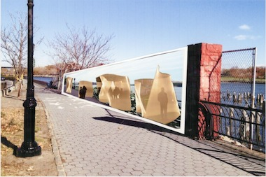 The Friends of the East River Esplanade want to create a public art installation in the space.
