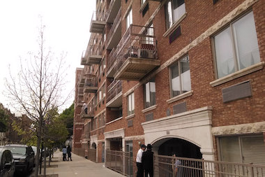 Theodore Nemon died at the hospital after falling from his family's Crown Heights home, police said.