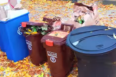 The city will start collecting compost and organic waste in Park Slope starting May 19.