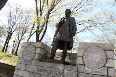 "J. Marion Sims developed a surgery to treat a serious condition called vesicovaginal fistula, which sometimes occurs during childbirth, Regarded as the ""father of modern gynecology,"" Sims conducted experiments on slave women without anesthesia."