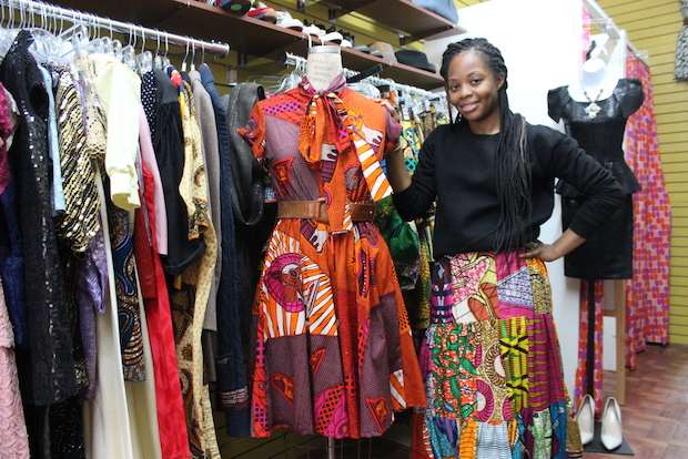 Stellah Johnson, a 52-year-old second grade teacher from Bed-Stuy, was running Stellah's Vintage Groove online as an Etsy store. Now she has her own storefront.