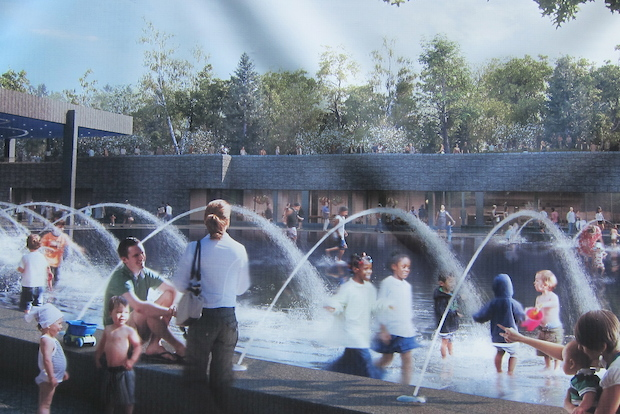 A summertime playground celebrating mainly water play will open Monday at Prospect Park, according to a release.