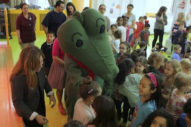 The school plays a role in the story of beloved children's book character Lyle the Crocodile.