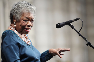 Maya Angelou died in Winston-Salem, North Carolina, her caretaker told the local FOX television affiliate on May 28, 2014. She was 86.