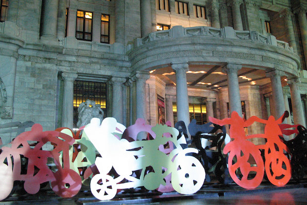 "Artist Gilberto Aceves Navarro will showcase his project ""Las Bicicletas"" in locations throughout Brooklyn and Manhattan this summer."
