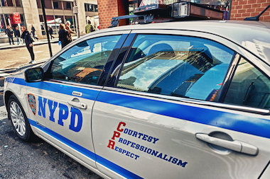 As part of the Vision Zero campaign, police also cracked down on drivers using cellphones.
