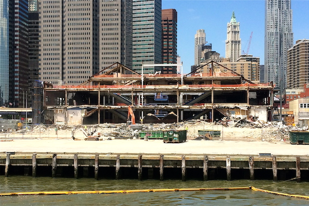 Pier 17 and its longtime mall will soon be demolished.