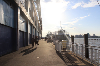 Pier 40 in Hudson River Park badly needs repairs.